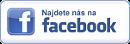 Najdeš nás na Facebooku. Staň se fanouškem!